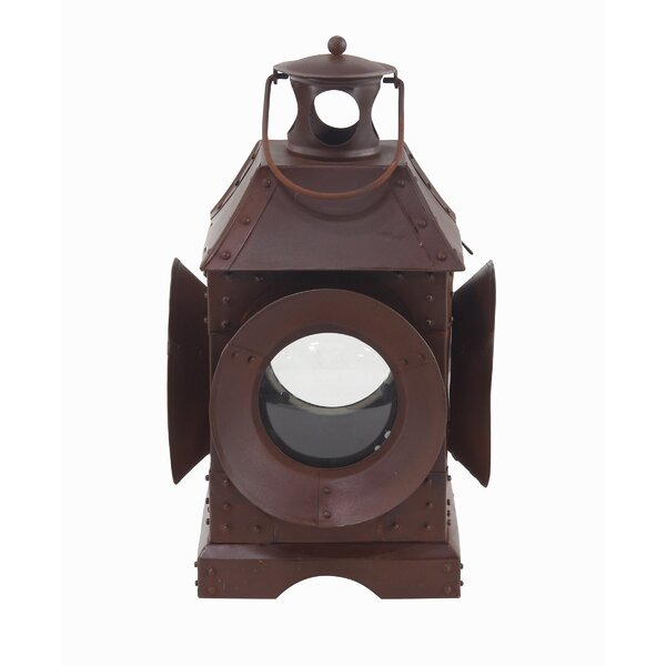 Traditional Metal Lantern by Millwood Pines