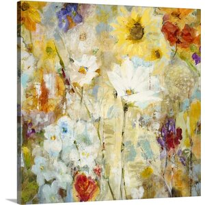 'Fugue' by Jill Martin Painting Print on Canvas by Canvas On Demand