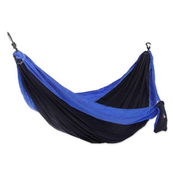 Parachute Portable Nylon Camping Hammock by Novica