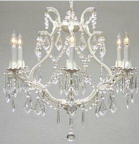 Alvarado 6-Light Candle Style Empire Chandelier By Astoria Grand
