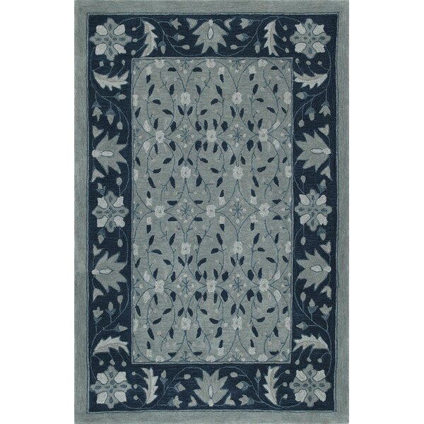 Delmira Hand-Tufted Sky Area Rug by Darby Home Co