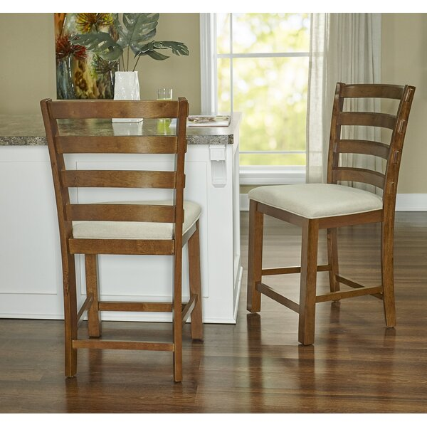 Crivello Bar & Counter Stool with Cushion by Darby Home Co Darby Home Co