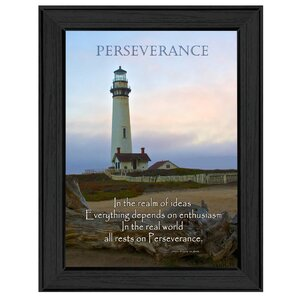 'Perseverance' Framed Photographic Print by Trendy Decor 4U