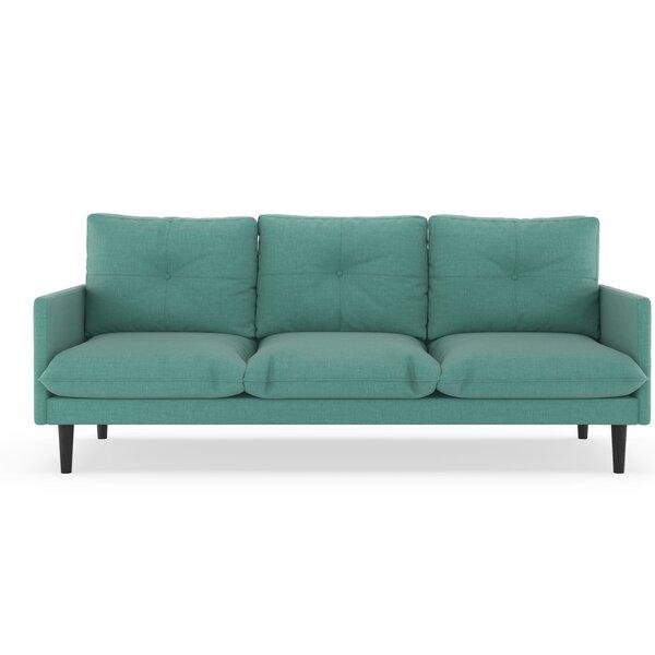 Cracraft Linen Weave Sofa by Corrigan Studio