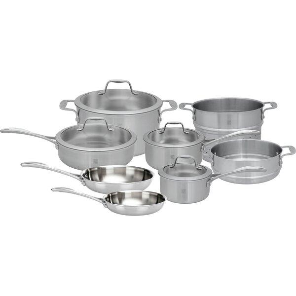 Spirit 12 Piece Stainless Steel Cookware Set by Zwilling JA Henckels