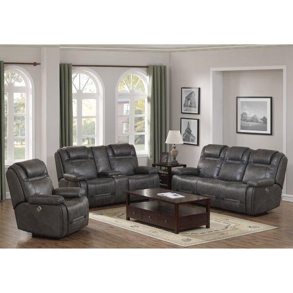 Slayden Reclining 3 Piece Living Room Set by Winston Porter