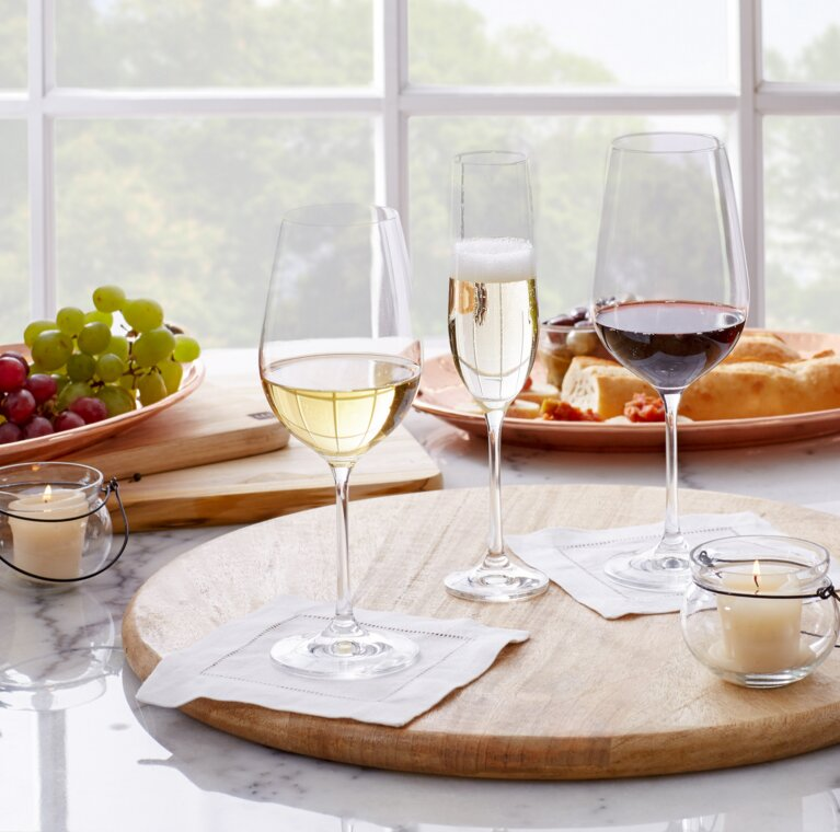 Wayfair Basics 36-Piece Wine & Champagne Glass Set