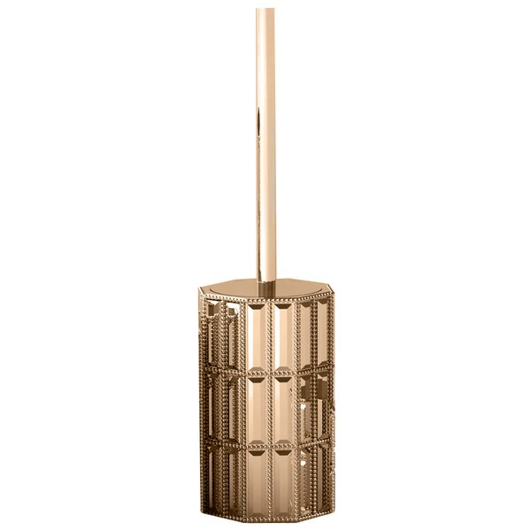 Glitz Free Standing Toilet Brush and Holder by NU SteelGlitz Free Standing Toilet Brush and Holder by NU Steel