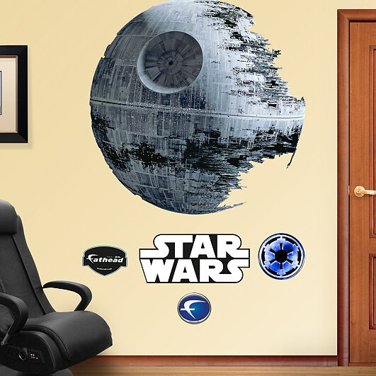 Star Wars Death Star Wall Decal by Fathead