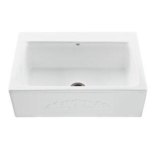 Reliance McCoy Embossed 33 L x 22.25 W Farmhouse/Apron Kitchen Sink ByReliance