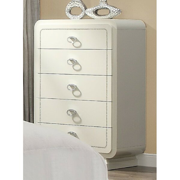 Gilleland 5 Drawer Chest by Everly Quinn