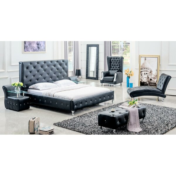Yuvi King Standard 5 Piece Bedroom Set by Orren Ellis