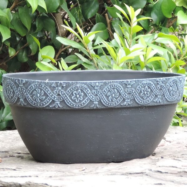 Athena Fiber Clay Pot Planter by Griffith Creek Designs