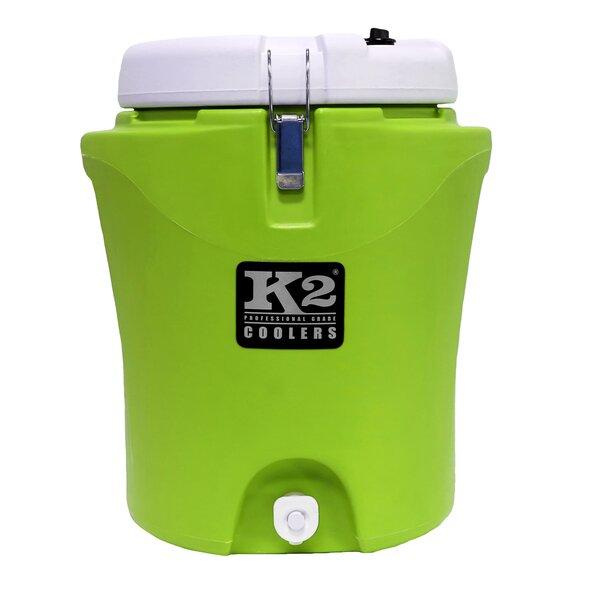 20 Qt. K2 Water Jug 5 Gallon Lid Cooler by K2 Coolers