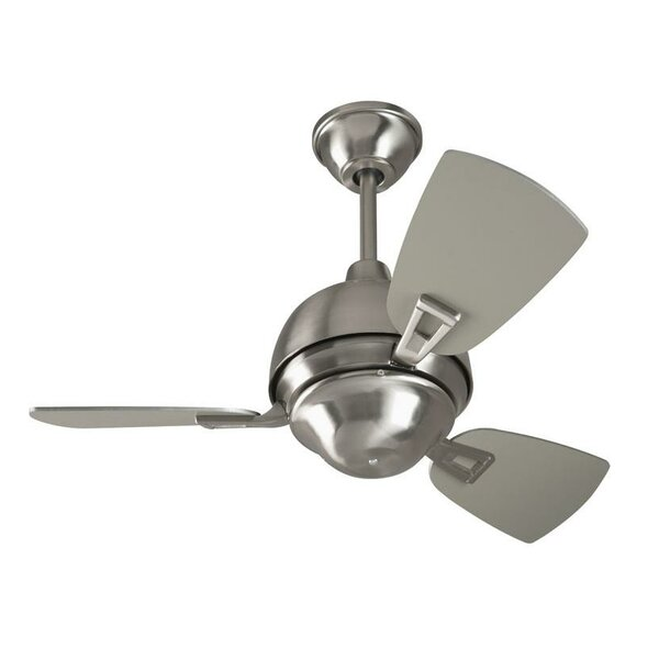 30 Luise 3 Blade LED Ceiling Fan by Red Barrel Studio