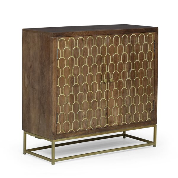 2 Door Accent Cabinet by Everly Quinn Everly Quinn