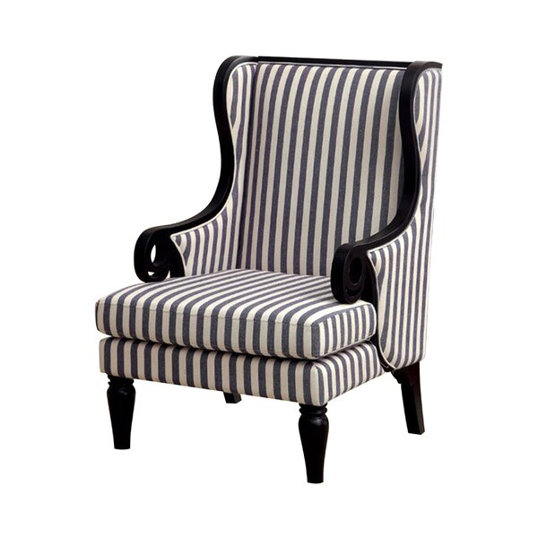 Mortimer Wingback Chair by Hokku Designs
