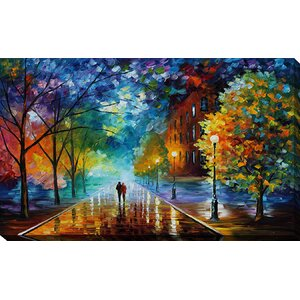 Freshness of Cold by Leonid Afremov Painting Print on Wrapped Canvas by Picture Perfect International