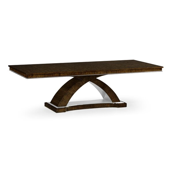 Belgravia Eucalyptus Solid Wood Dining Table by Jonathan Charles Fine Furniture
