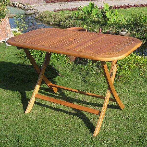 Sabbattus Folding Dining Table by Breakwater Bay