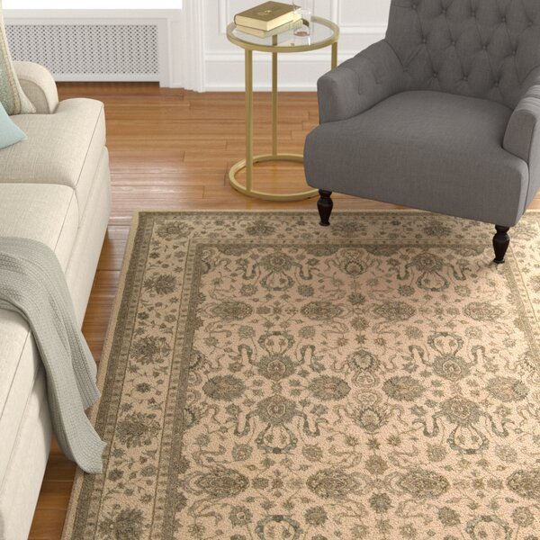 Lundeen Ivory Area Rug by Astoria Grand