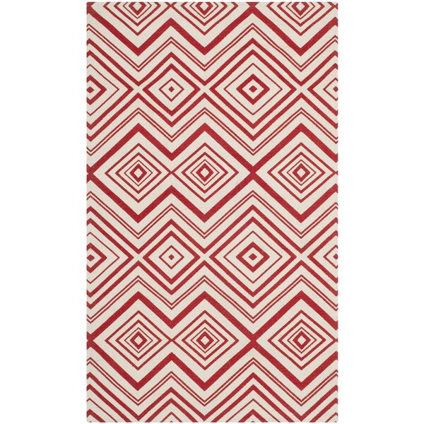 Sonny Ivory / Coral Rug by Wrought Studio