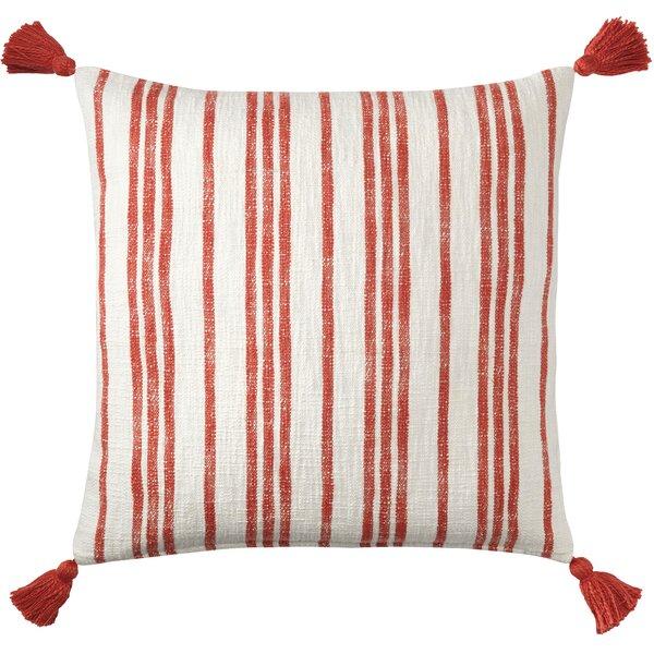 Grain Sack Cotton Throw Pillow by CompanyC