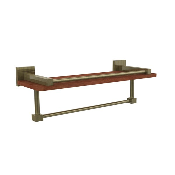 Montero Gallery Rail Wall Mounted Towel Bar by Allied Brass