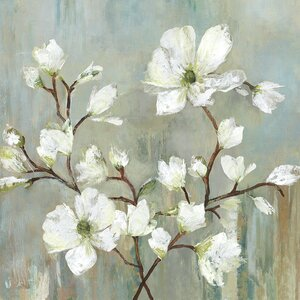 'Sweetbay Magnolia II' Painting Print by Three Posts