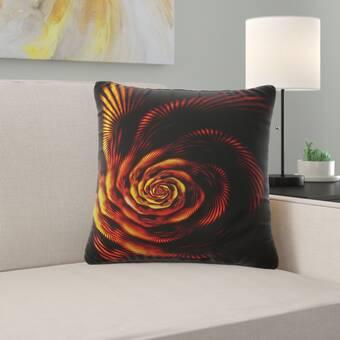 August Grove Arlen Cotton Throw Pillow Cover Reviews Wayfair