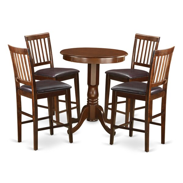 Southside 5 Piece Counter Height Pub Table Set by Charlton Home Charlton Home