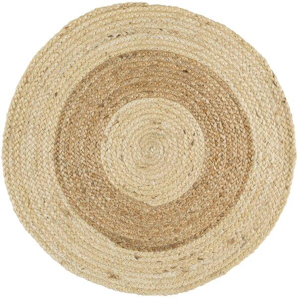 Koppel Hand-Woven Wheat/Cream Area Rug by Gracie Oaks