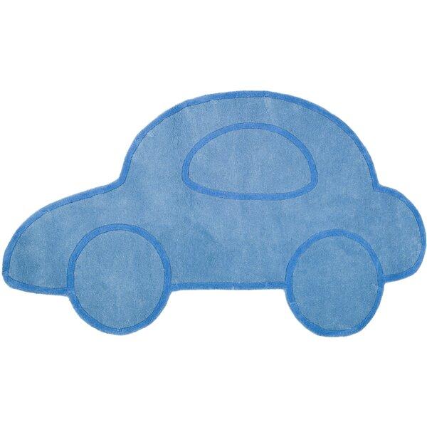 Latasha Hand-Tufted Blue Novelty Rug by Zoomie Kids