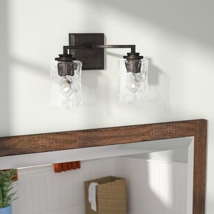 Shop For Berns 2-Light Vanity Light By Three Posts