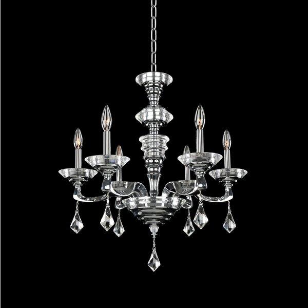 Cosimo 6-Light Chandelier by Allegri by Kalco Lighting