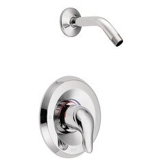 Chateau Posi-Temp Shower Faucet Trim with Lever Handle by Moen