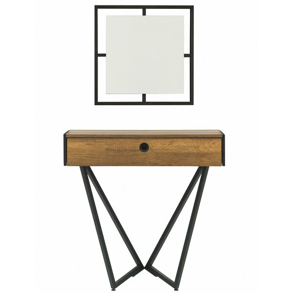 Deshawn Vanity with Mirror by Langley Street
