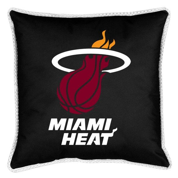 NBA Sidelines Throw Pillow by Sports Coverage Inc.