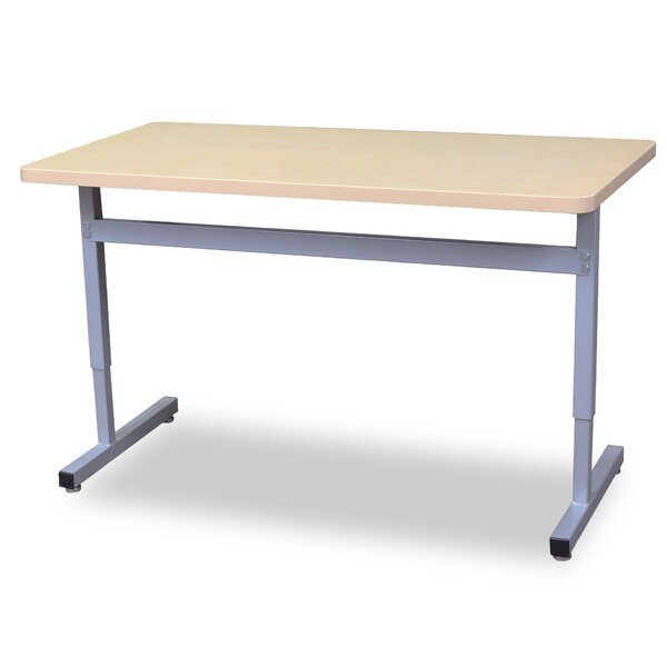 Une-T 2 Laminate 48 x 20 Rectangular Collaborative Desk by WB Manufacturing