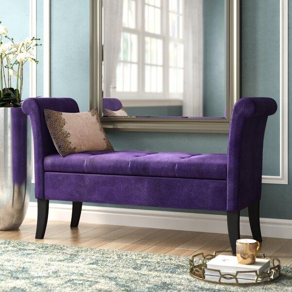 Lazzaro Upholstered Storage Bench by Willa Arlo Interiors