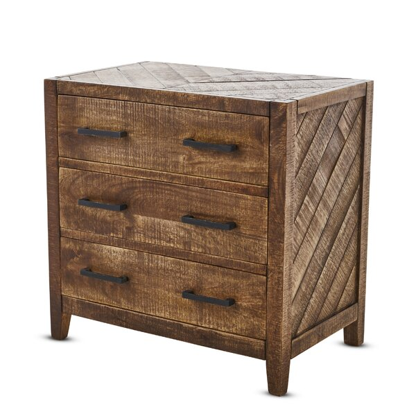 Brimfield Wooden 3 Drawer Accent Chest by Foundry Select