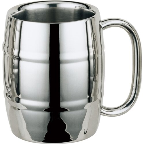 Volksfest Beer Glass 14 oz. Stainless Steel by Visol Products