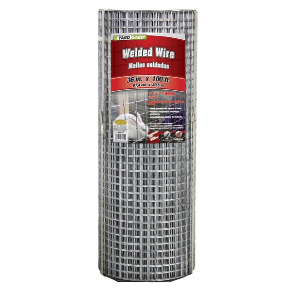 16 Gauge Galvanized Welded Fencing by YARDGARD