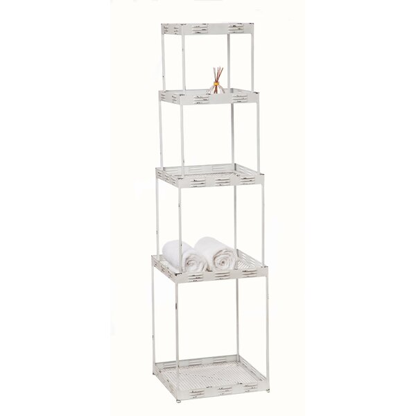 Branham 19.25 W x 72 H Bathroom Shelf by The Twillery Co.