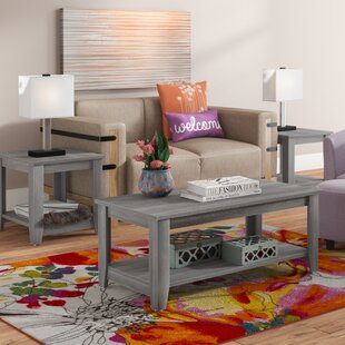 Review Bulma Coffee Table Set by Zipcode Design