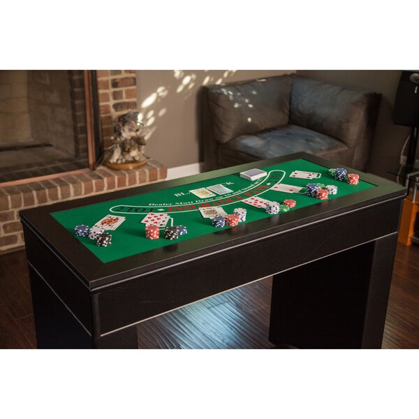 47.75 Monte Carlo 4-in-1 Casino Table by Hathaway Games