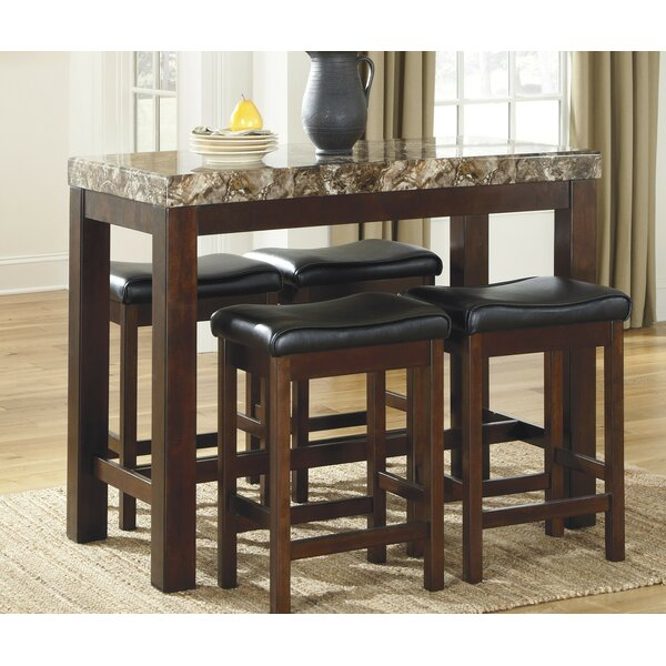 Fossil 5 Piece Dining Set by Global Trading Unlimited