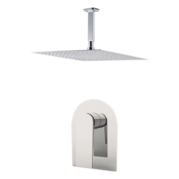 Havana Volume Control Shower Faucet with Rough-in Valve Trim and Diverter by Aquamoon Aquamoon
