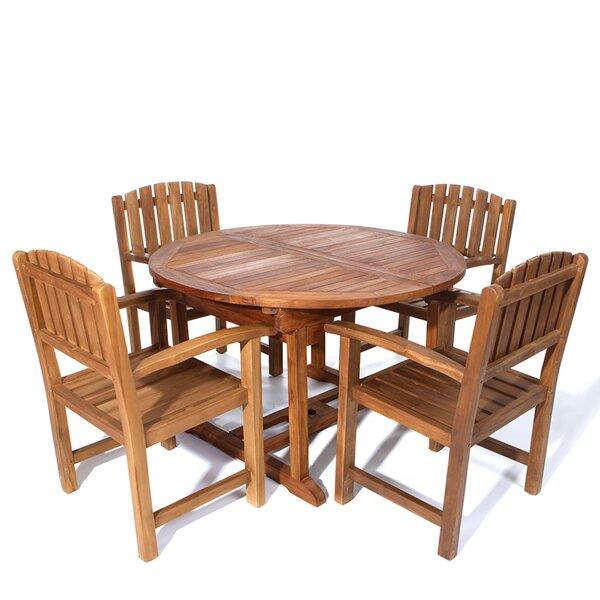 Humphrey 5 Piece Teak Dining Set