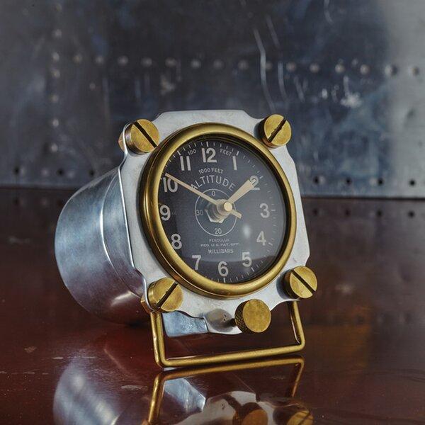 Altimeter Tabletop Clock by Breakwater Bay